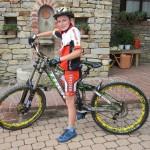 Bike per amatrice: La grande generosità di Matteo